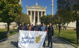GCC Media Take Off with Gulf Air to Athens