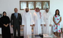 Gulf Air Chairman and CEO Receive the Chairman of Bahrain Free Labour Unions Federation (Al Hurr)