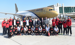 Gulf Air Continues to Support Bahrain National Football Team in Arabian Gulf Cup Semi-Finals
