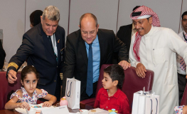 Gulf Air Marks Childhood Cancer Awareness Month