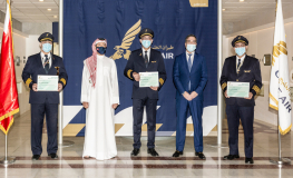 Gulf Air Rewards 56 Employees from Various Divisions