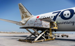 Gulf Air cooperates with local companies in importing 9 tons of medical supplies