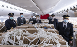 Gulf Air imports more than 80 tons of medical supplies in May