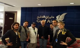 Gulf Air, Jumeirah Group and Visit Britain take Saudi Media to London.JPG